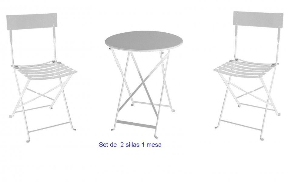 Mesas plegables terraza tea time sillas y mesas plegables for Sillas plegables terraza