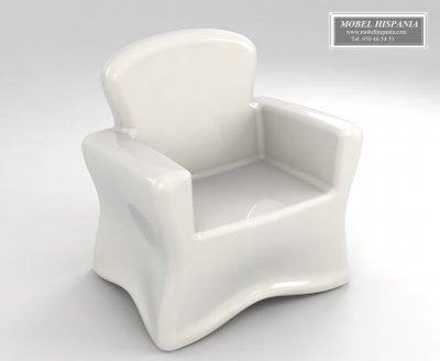 MV.834 sofas politileno iluminable blanco 16 colores