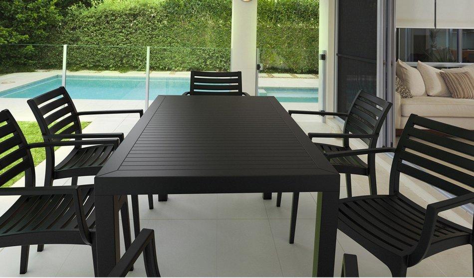 Mesas de terraza set de muebles jardin o terraza modelo for Mesas y sillas para terraza
