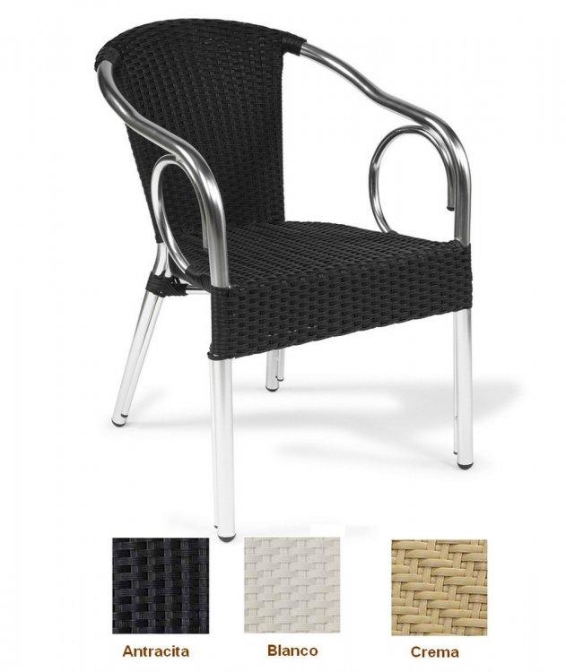rb sillon aluminio deco bambu terrazas