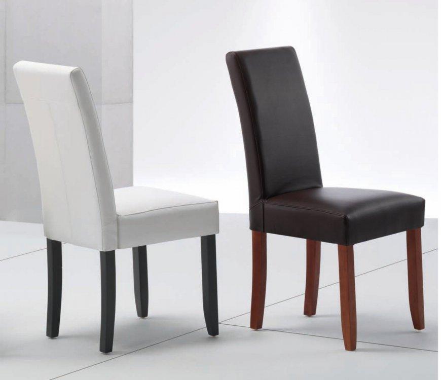 Como tapizar sillas de madera dcn silla madera tapizado negro with como tapizar sillas de - Como tapizar una silla con respaldo ...