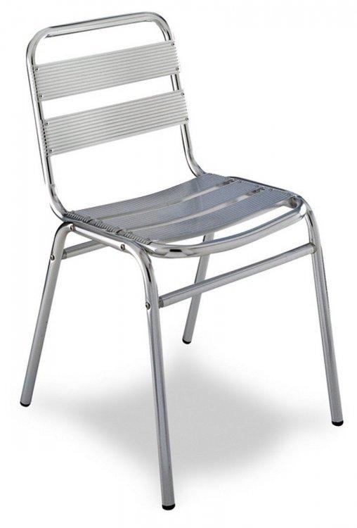 Mv 190 Silla Aluminio Apilable Terrazas Y Hosteleria 27 00
