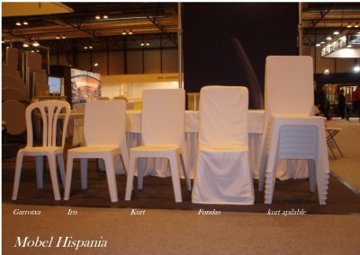 Catering sillas apilables resina ( uso profesional