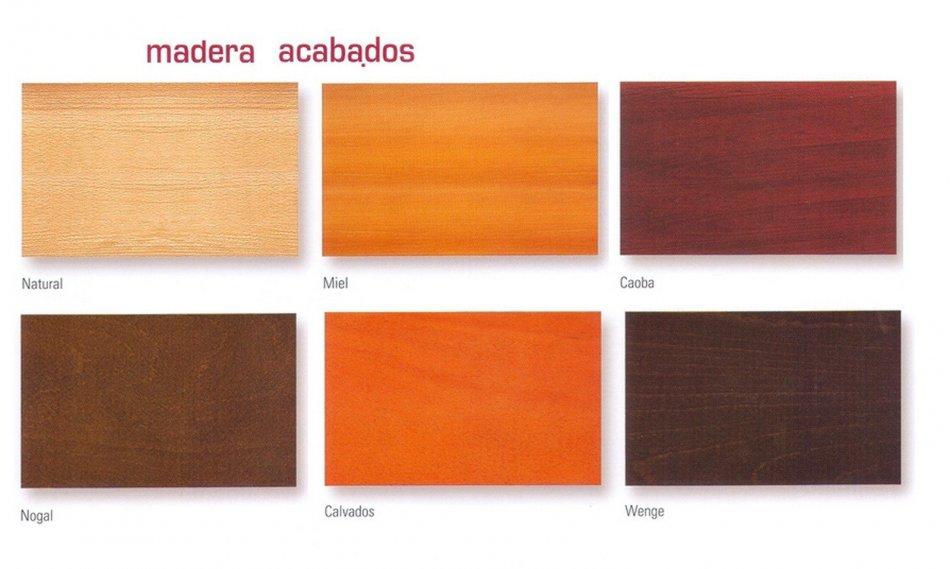 Silla patin madera laminada varios colores - Maderas hispania ...