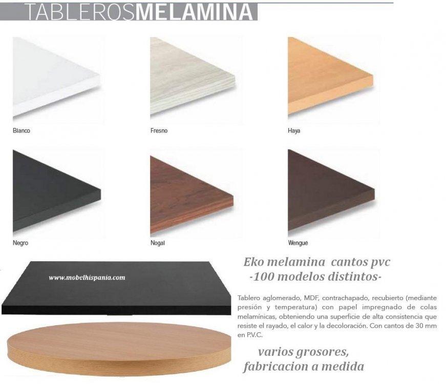 Tableros para mesas a medida trendy lowe muebles uno - Tablero vidrio malm ...