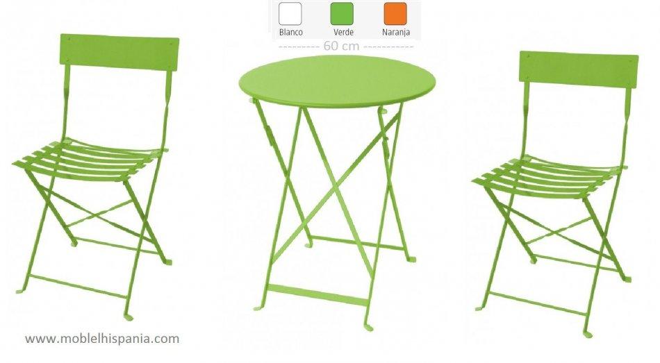 Venta de sillas plegables metalicas foto fabrica sillas for Sillas plegables terraza