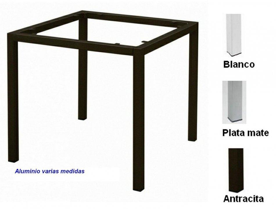 AG.2942 Pies de mesa aluminio base de 4 patas - 62.00EUR : MOBEL ...