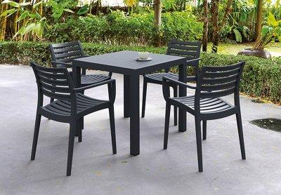 Mesas resina artico hosteleria terraza mobel hispania mobiliario para oficinas - Mesas de exterior de resina ...