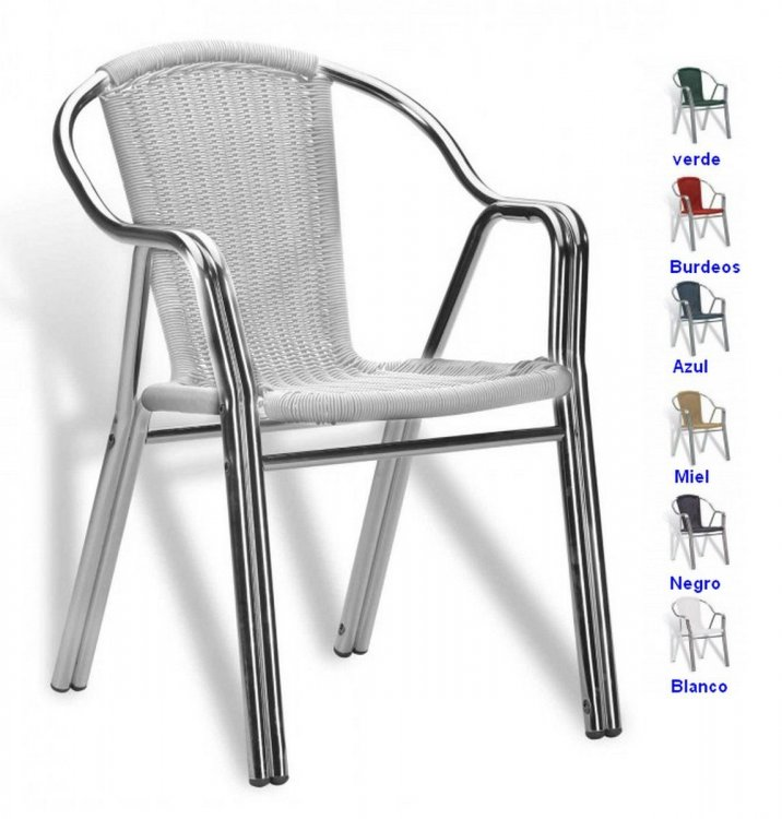 Sillas metalicas de terraza sillas metalicas plegables for Sillas plegables terraza