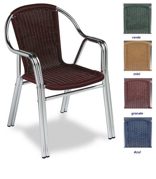 Sillones exteriores incluye una mesa de centro dos for Sillones para exteriores precios